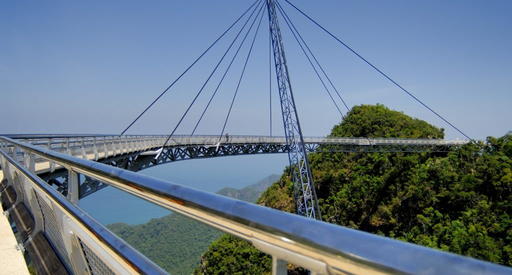 HANGING BRIDGE CABLE CAR - LANGKAWI